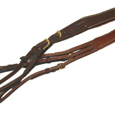 Nackstycke & sidostycke brun
