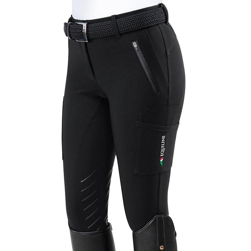 Damridbyxa cargo knee grip