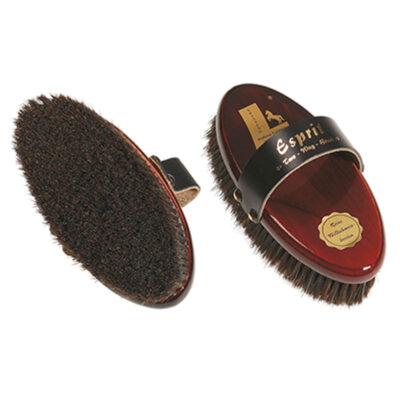 Esprit brunlaserad ryktborste two-way ren kraftig borst