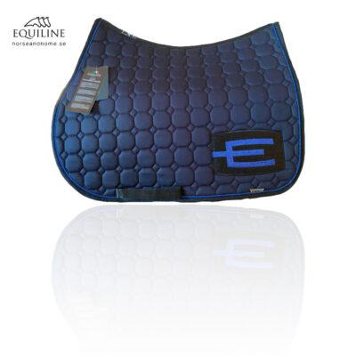 Equiline E-logga schabrak glitterblå passpoal