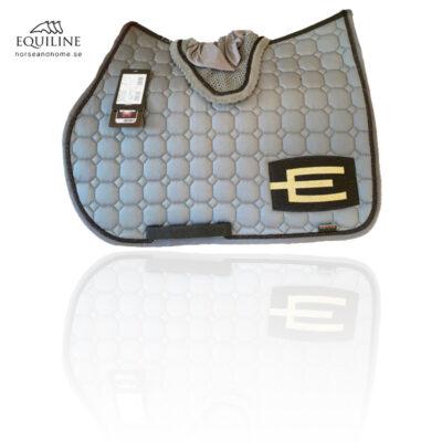 Equiline E-logga schabrak glittersvart passpoal