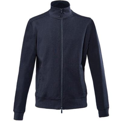 Sweatshirt full zip unisex