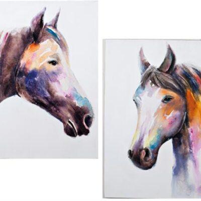 Häst i färg