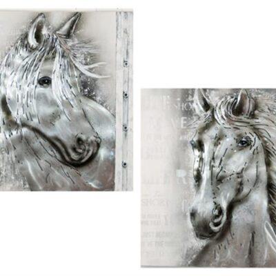 Häst i silver