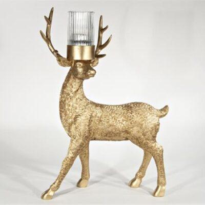 Hjort Värmeljus Guld