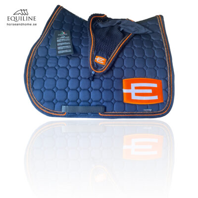 Equiline E-logga schabrak brons/glittersvart/orange passpoal